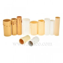 Plastic Candle Drips and Tubes