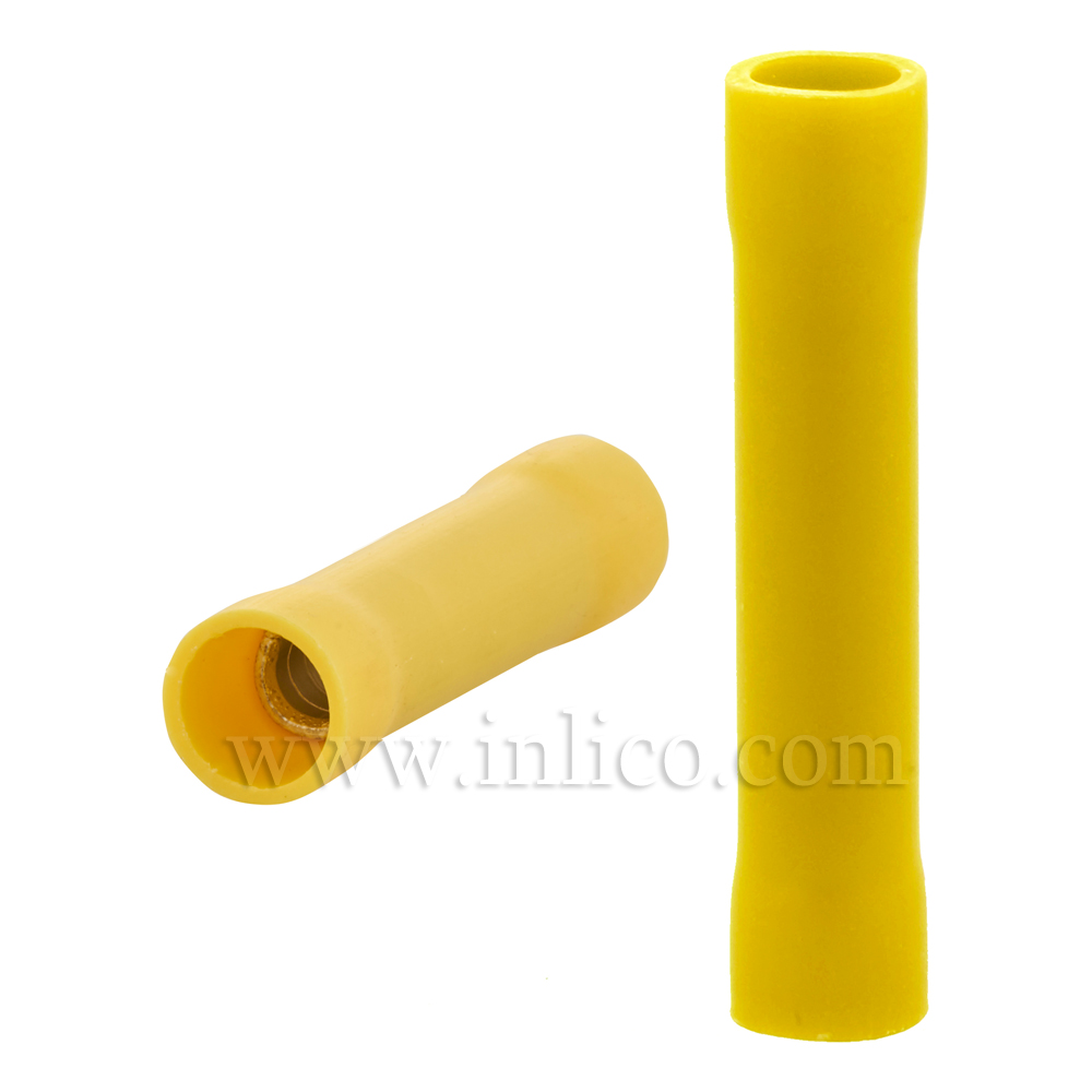 DOUBLE CRIMP CONNECTOR YELLOW 4 - 6mm2