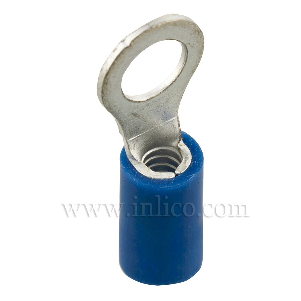 RING TERMINALS INSULATED BLUE 1.5-2.5mm