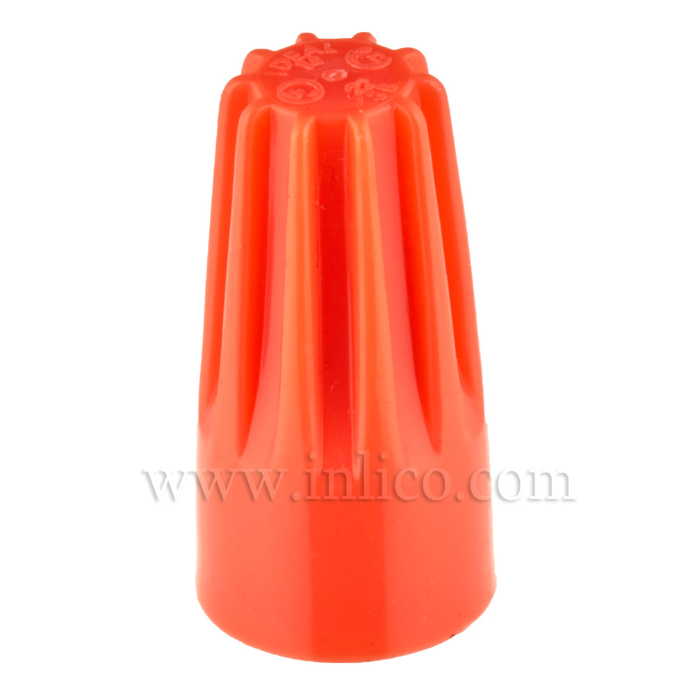 ORANGE WIRENUT CONNECTOR 30-173 UL LISTED E5238
