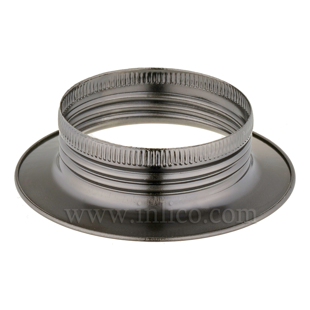E27 METAL SHADE RING BLACK BRONZE FINISH