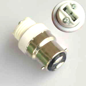 BC TO G9 LAMPHOLDER ADAPTOR (B22 TO G9)