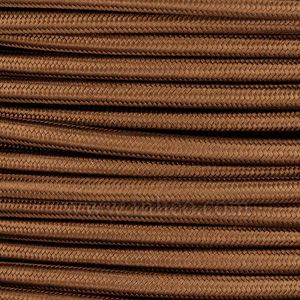 3x0.75MM FABRIC COVERED CABLE ANTIQUE GOLD 3 X 0.75MM ROUND PVC/PVC FLEXIBLE CABLE COVERED IN ANTIQUE GOLD SILK BRAIDED SLEEVE HO3VV-F BS5025:2011