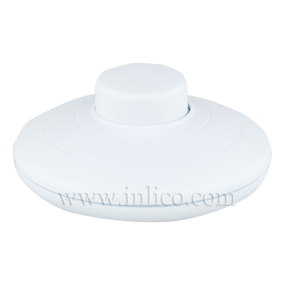 ROUND FOOT SWTCH 2A SINGLE POLE WHITE PUSH FIT TERMINALS ENEC AND UL APPROVED  FILE NUMBER E199215