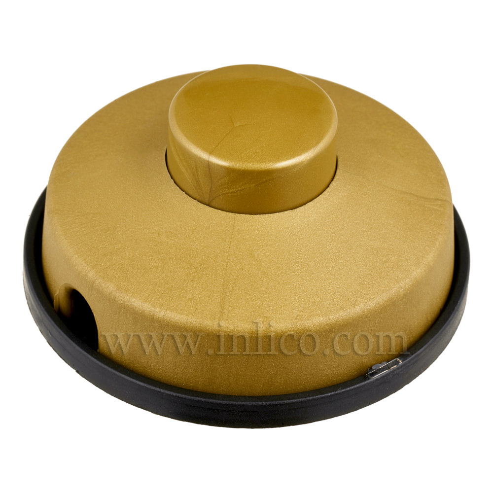 ROUND FOOT SWITCH 2A SINGLE POLE GOLD STANDARDS EN61058-1:2009 AND EN61058-2-1:2003