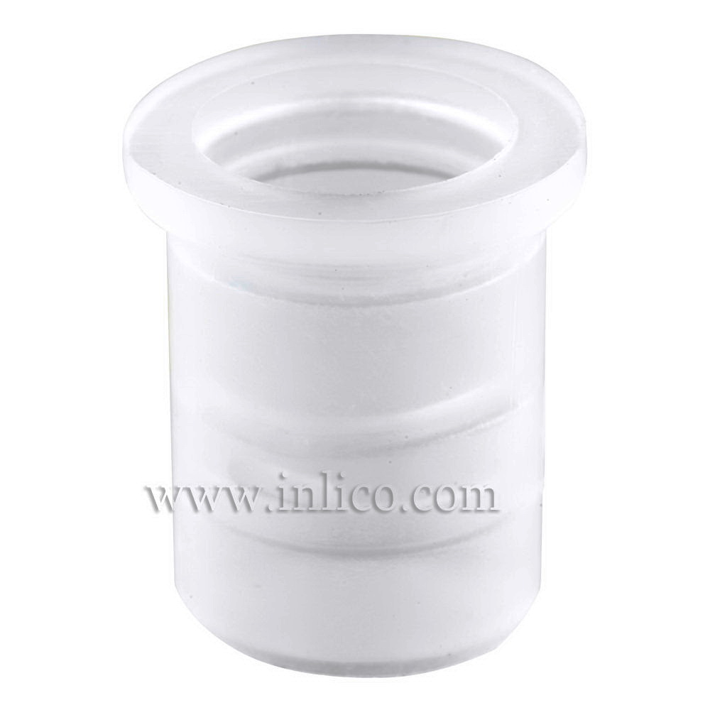 10MM HEAT RESISTANT GROMMET - CLEAR NYLON 66