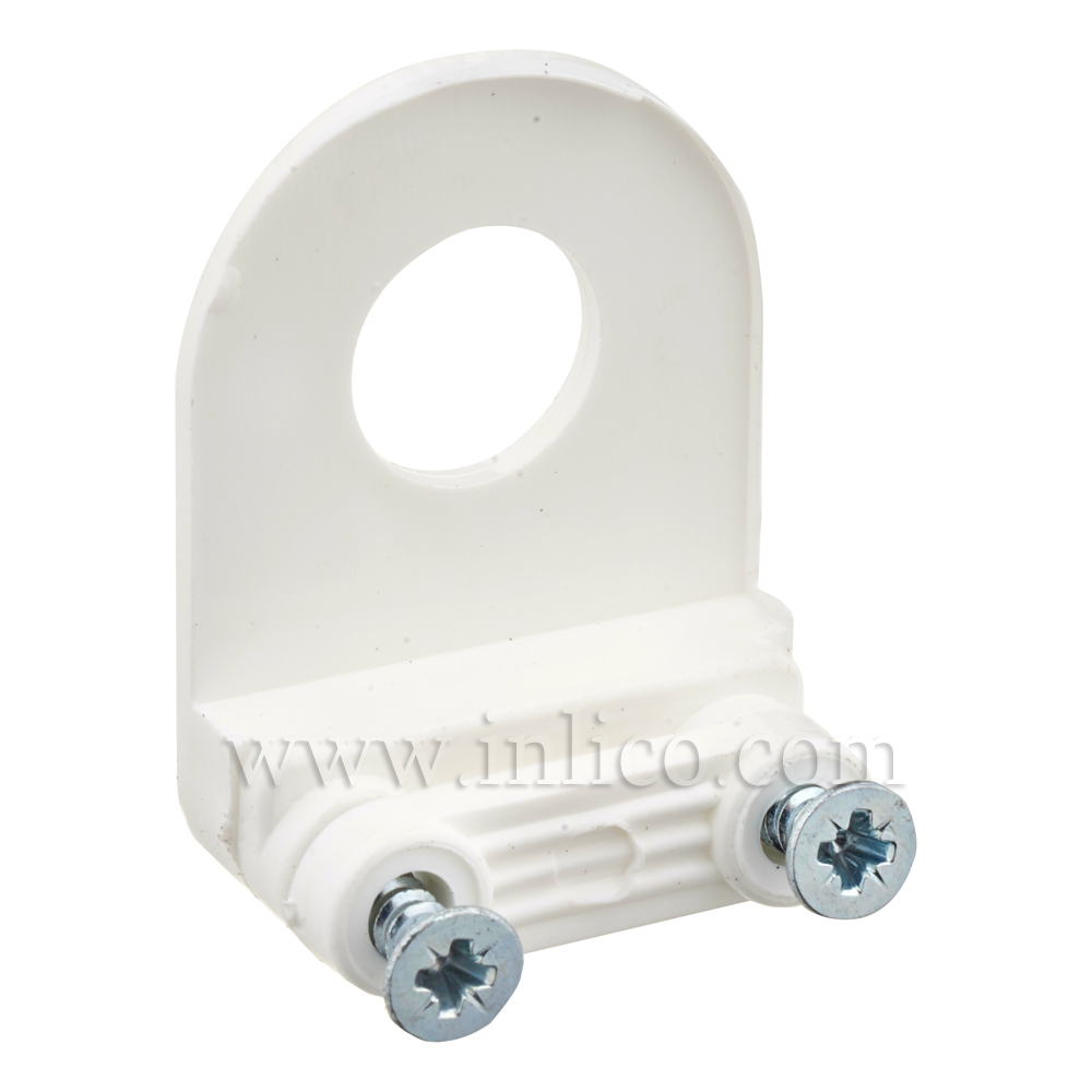 10MM CABLE CLAMP CORD GRIP - WHITE