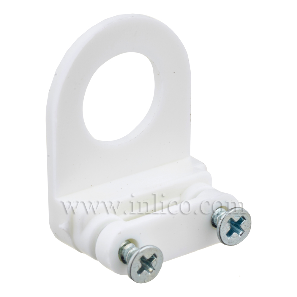 """1/2"""" CABLE CLAMP CORD GRIP - WHITE"""
