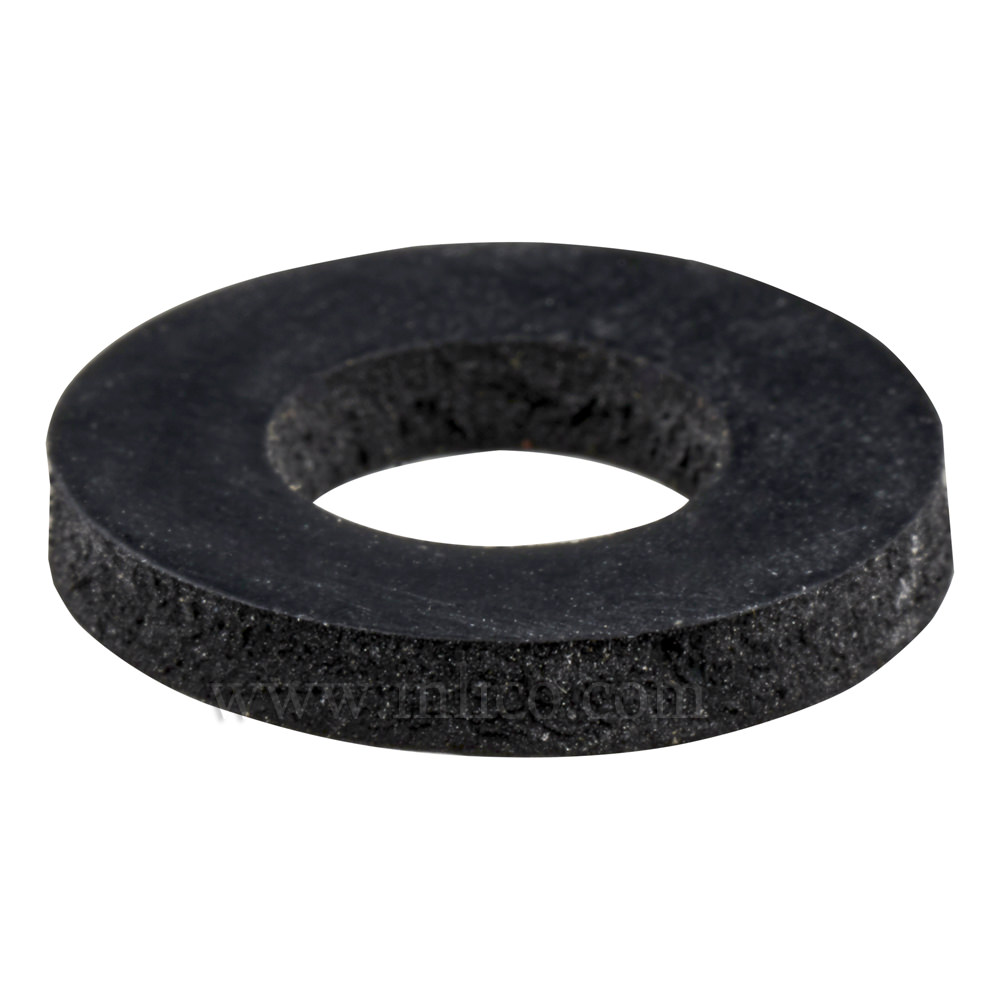 RUBBER WASHER ID 10.7 x OD 21 x 3mm THICK