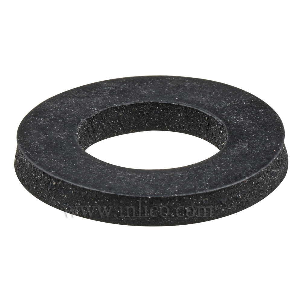 RUBBER WASHER ID 13.5 x OD 23.8 x 3mm THICK