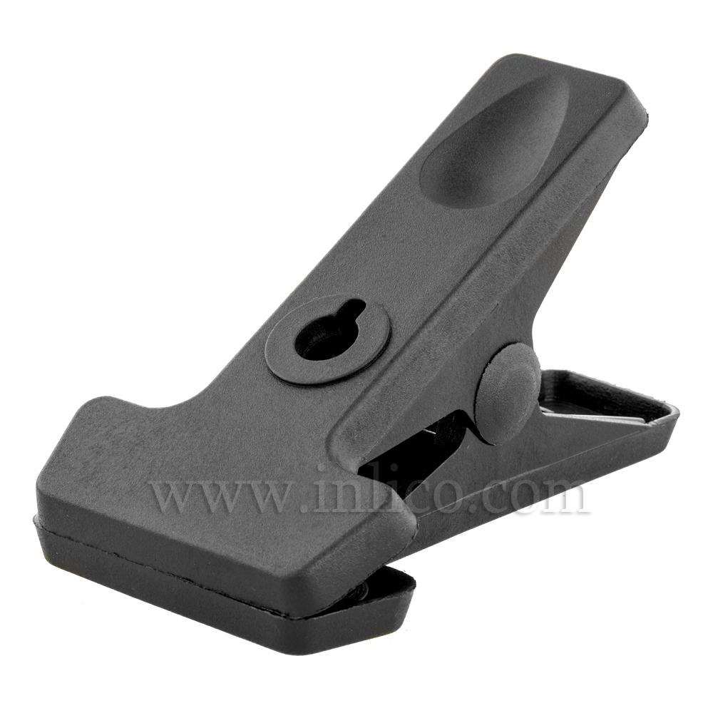 BLACK CABLE CLAMP 115MM LONG