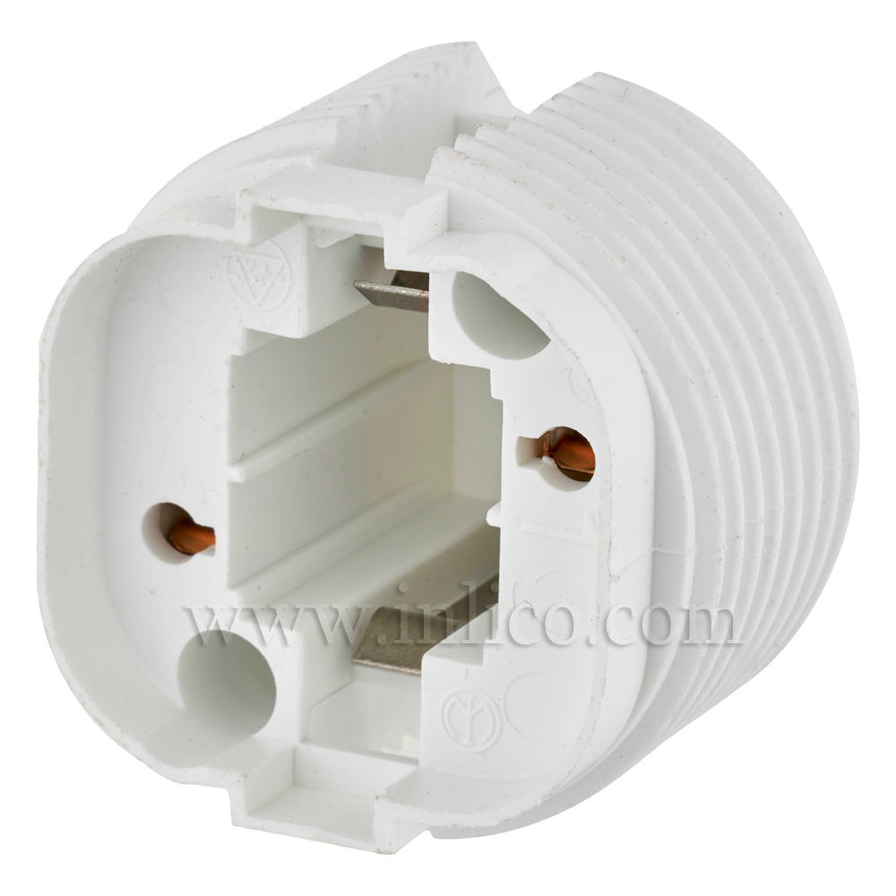 G24 D1 LOW ENERGY  LH WHITE FOR 10/13 WA TT 2-PIN COMPACT FLUORESCENT LAMP BOTTOM FIXING OR WITH CLICK FIT CAP FOR 10MM ENTRY