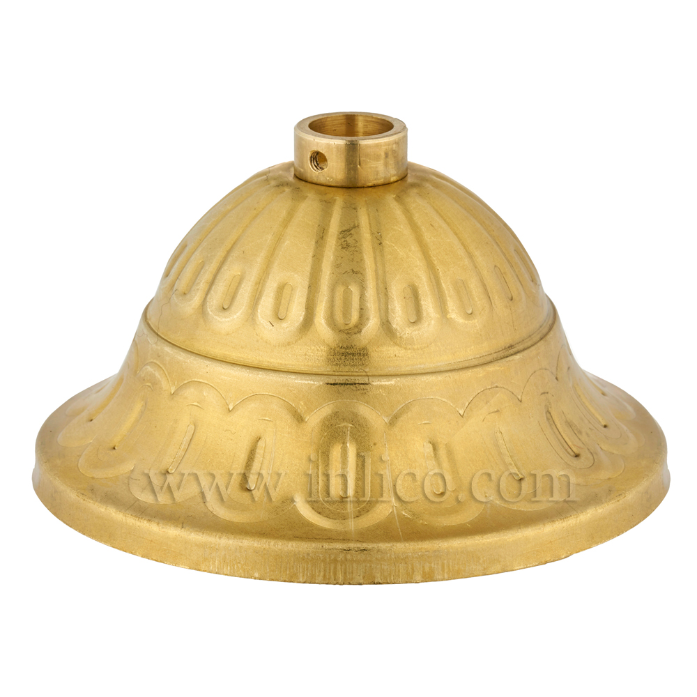 CEILING CUP RAW BRASS D80mmxHT39mm