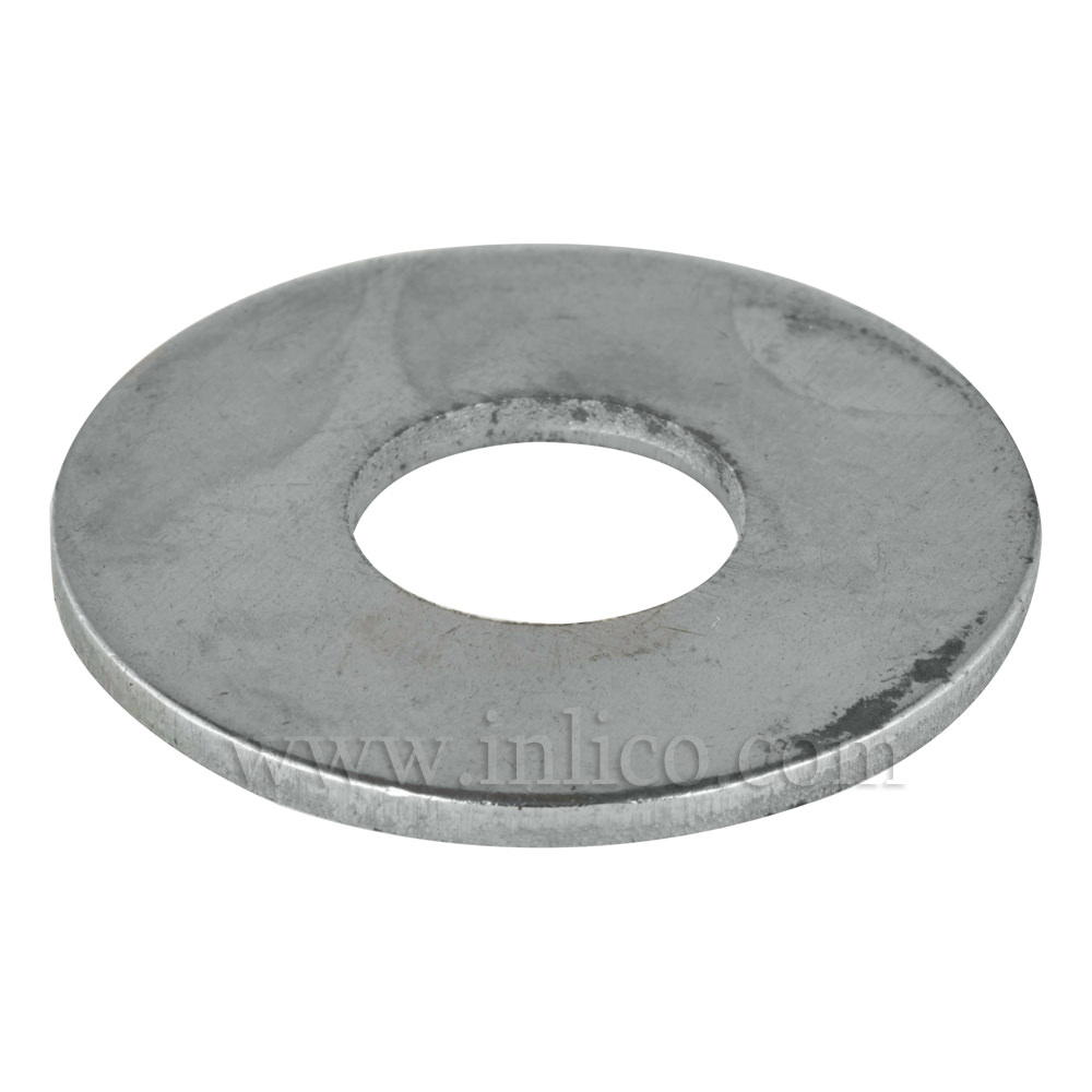 10 X 20MM STEEL WASHER ZINC GALVANIZED