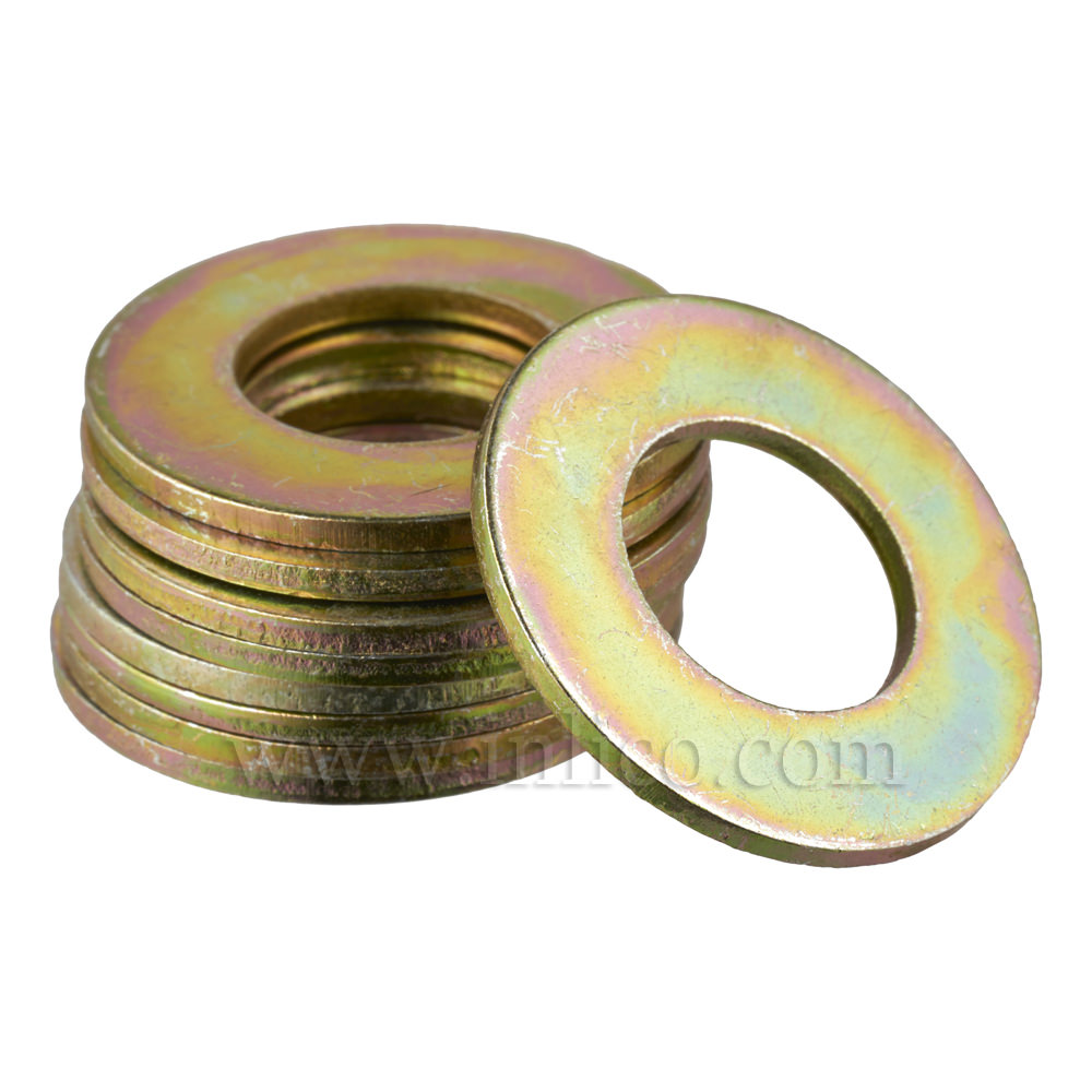 13 X 25MM BRASSED WASHER