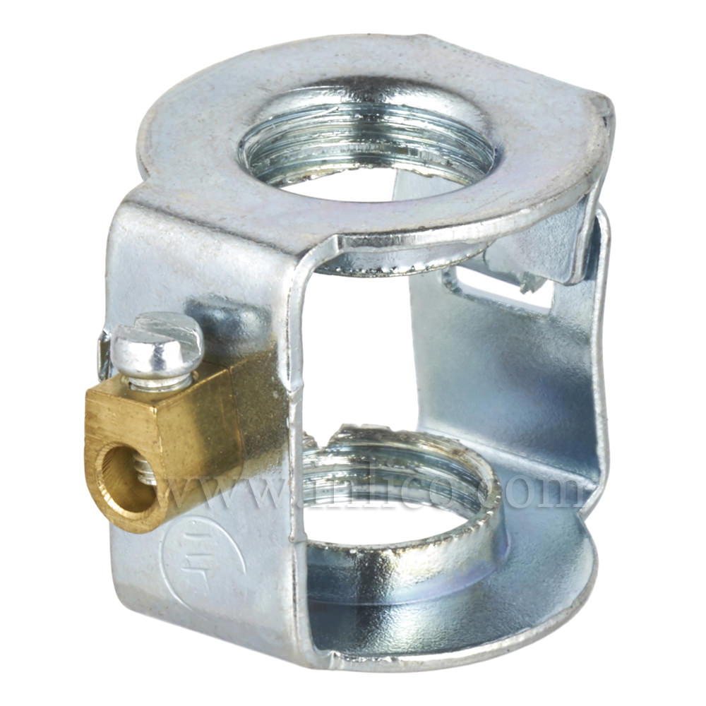 M10 xM10  STEEL HICKEY/COUPLER 20 X 18 MM WITH EARTH