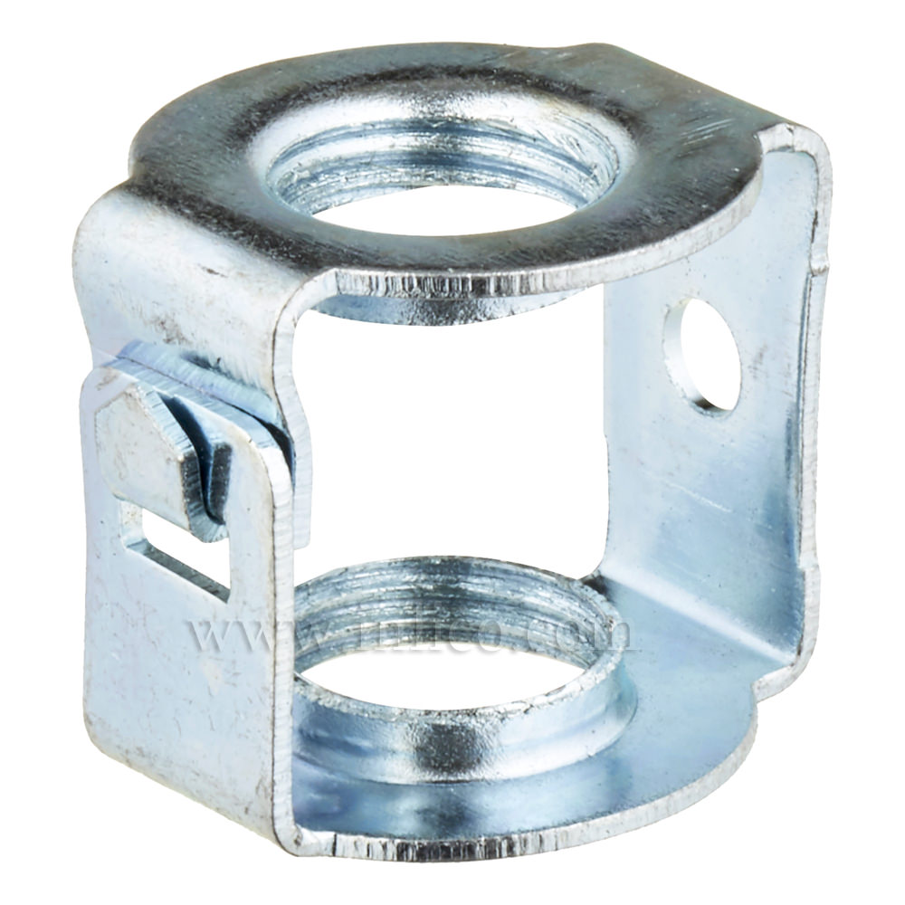 M10 x M10 STEEL HICKEY/COUPLER  20 X 18MM UNEARTHED