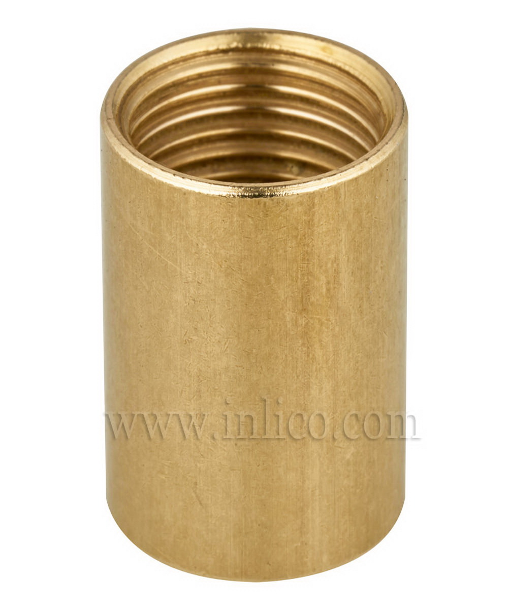 "1/2"" BRASS COUPLERS 20MM LONG"