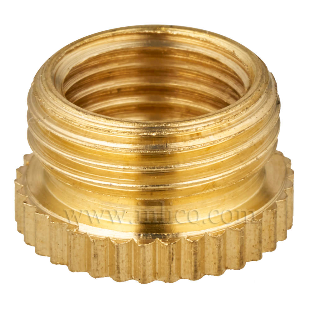 "BRASS REDUCER 1/2"" MALE X 10MM FEMALE"