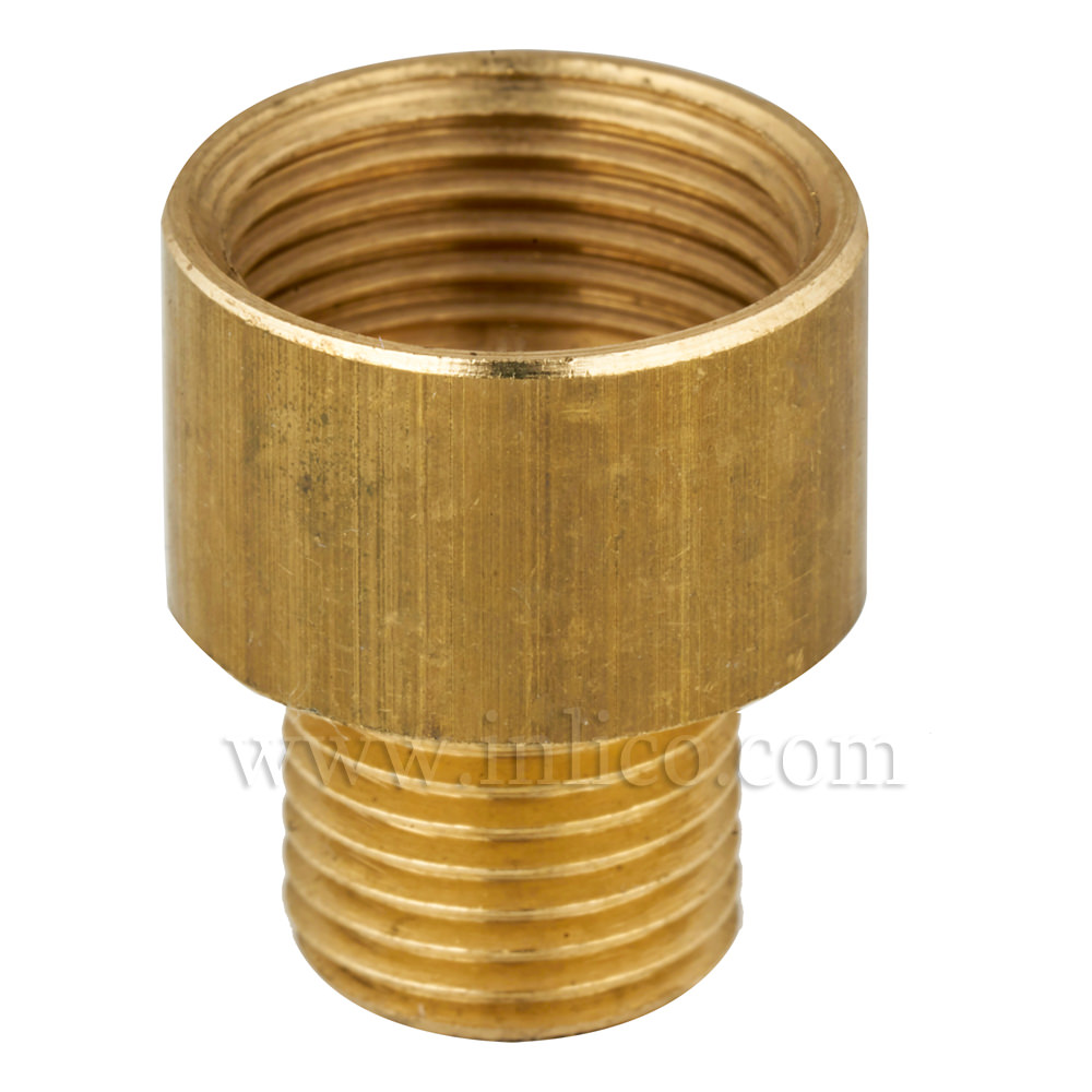 BRASS REDUCER/ADAPTOR 10MM X 1/2""