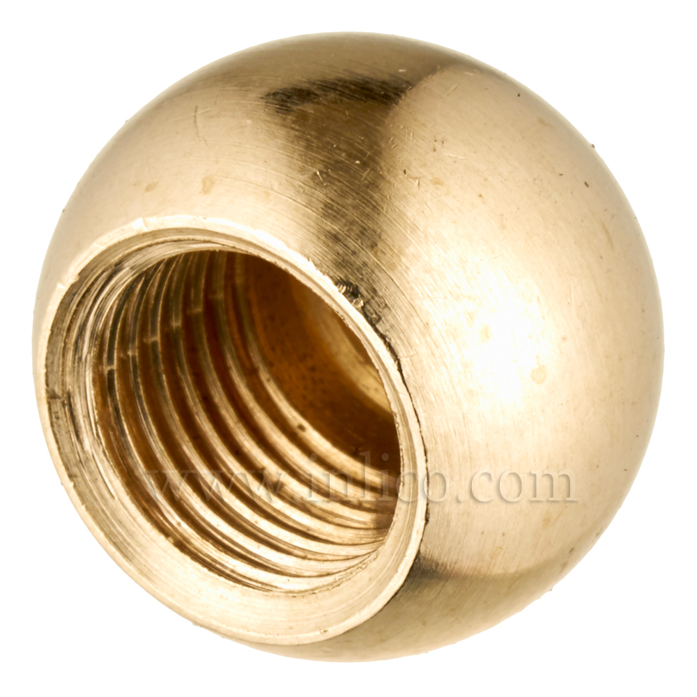 10MM BRASS ARM BALL 16MM BLIND (1538)