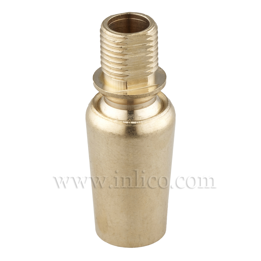 10MM M-F SWIVEL BALL JOINT RAW BRASS 16x39mm