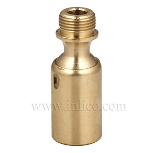"1/2"" M-F SWIVEL BALL JOINT RAW BRASS"