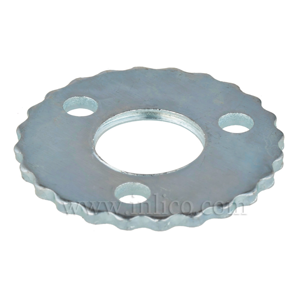 NIPPLE WASHER 3 HOLES/SERRATED