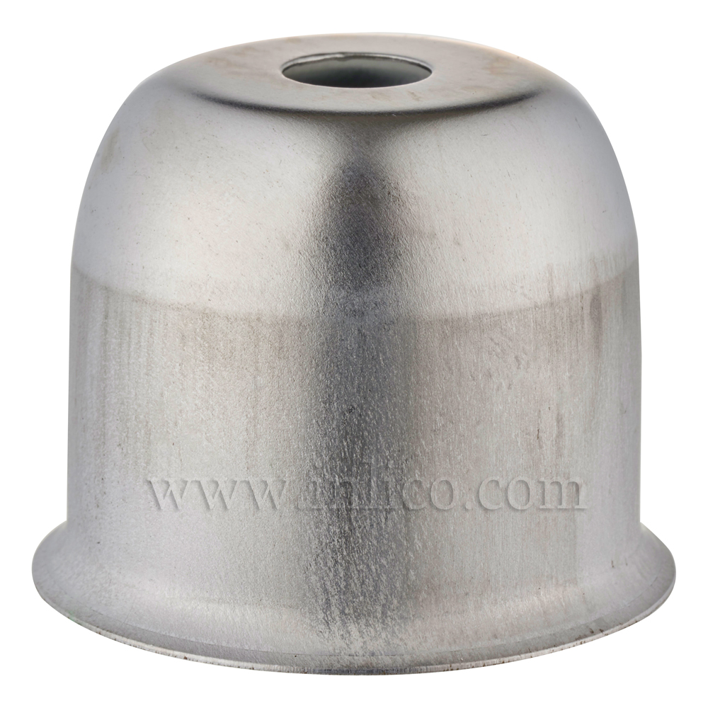 LAMP HOLDER CUP RAW STEEL 41X38MM WITH 10.5mm CENTRE HOLE (E074/B) HALF LAMPHOLDER COVER FOR E27/ES LAMPHOLDER