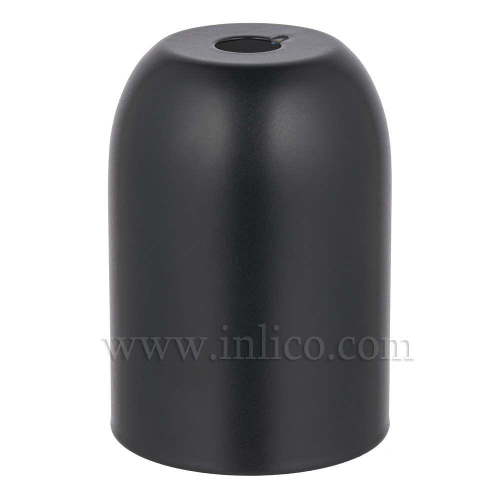 LH COVERS BLACK POWDER COAT  RAW STEEL L/HOLDER CUP D41XH60MM FOR E27/ES LAMPHOLDERFOR E27/ES LAMPHOLDER