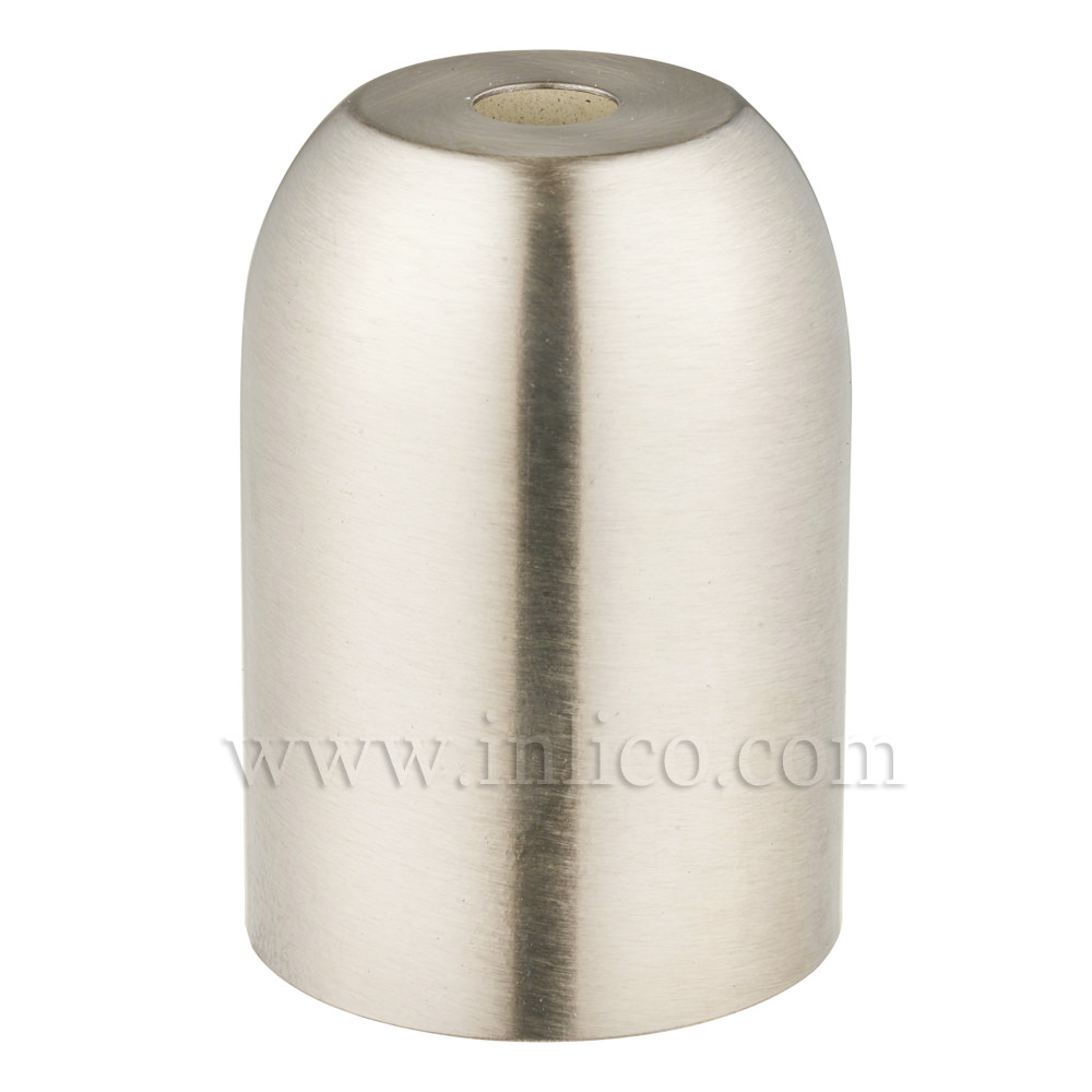 LH COVERS BRUSHED NICKEL RAW STEEL L/HOLDER CUP D41XH60MM