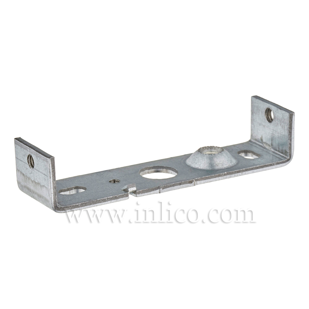 FIXING BRACKET FOR CEILING CUP 6.997/A GALVANIZED STEEL WITH M4 SIDE HOLES