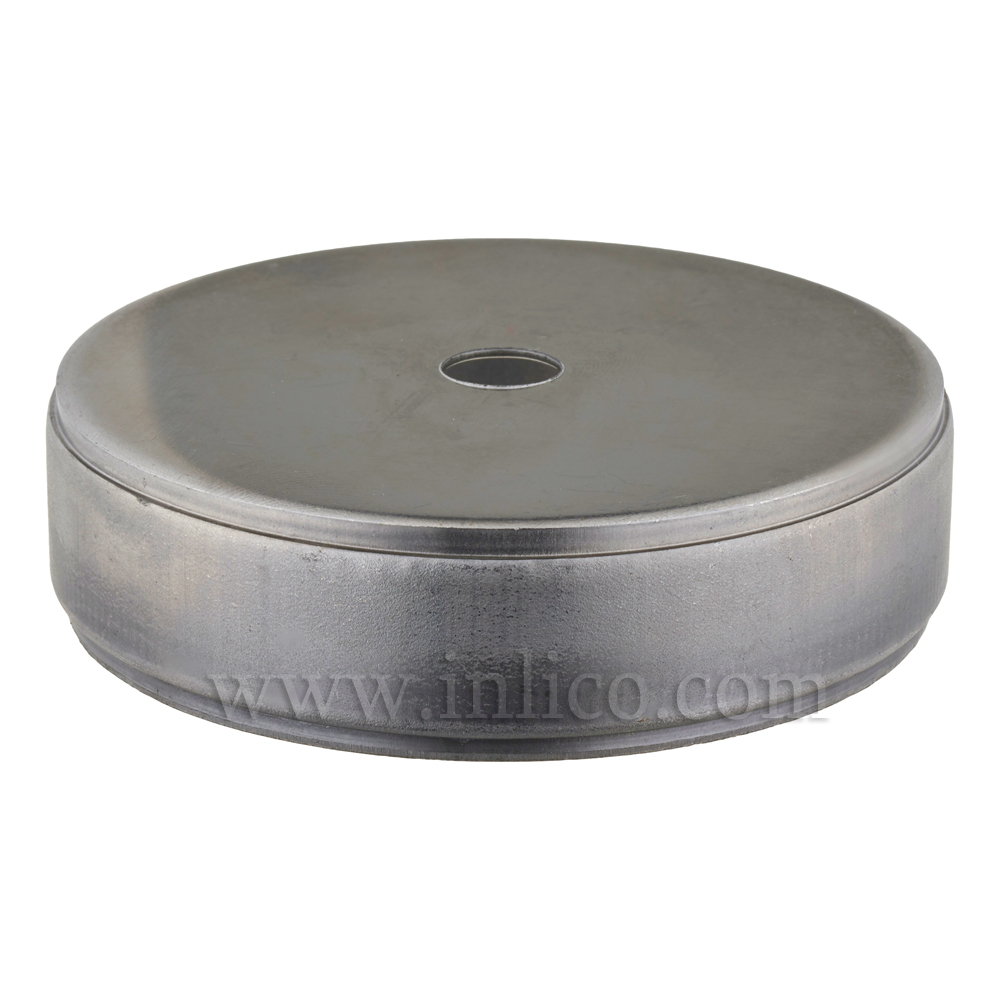 80MM RAW STEEL CENTREBODY - 0 SIDE HOLES 10.55 CENTRE HOLE