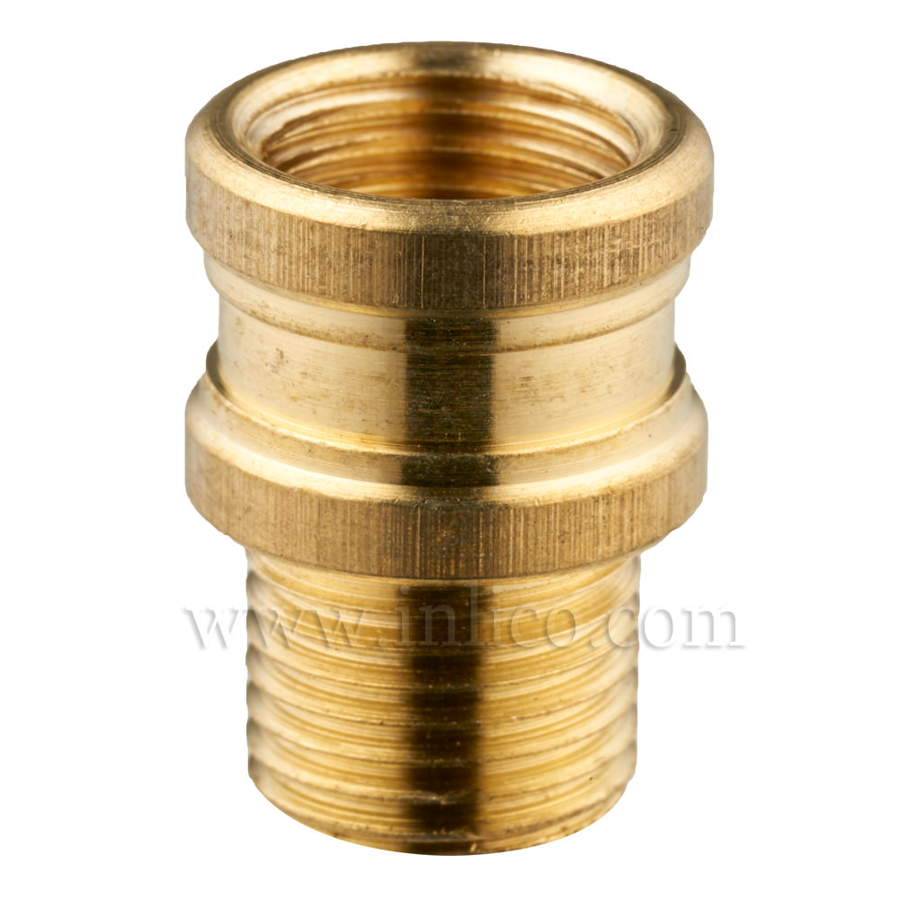SHAPED BRASS REDUCER/ADAPTOR M10F X M10M