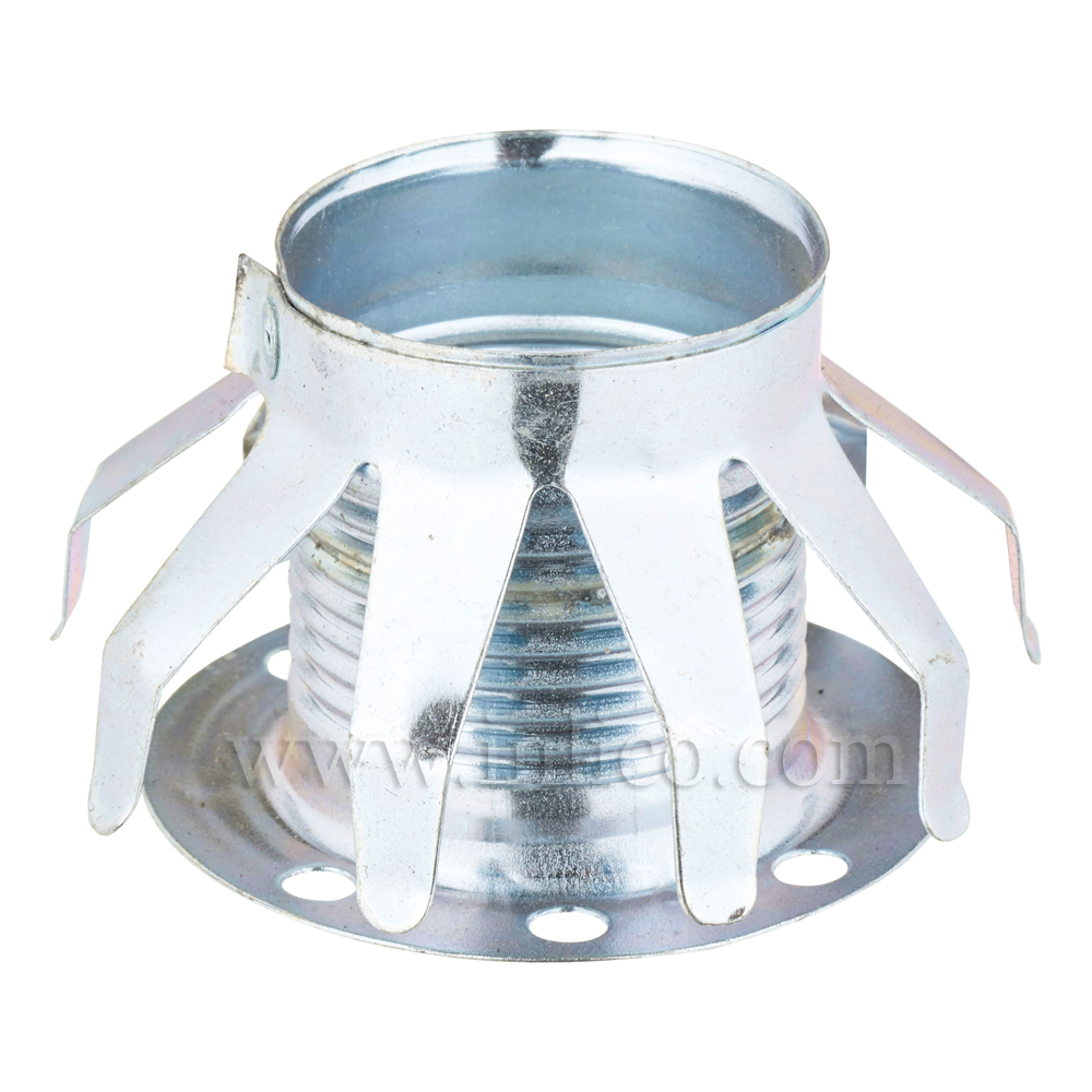 SPIDER SPRING SHADE RING FOR E14 LAMPHOLDER TO FIT HOLES 36-42MM DIAMETER