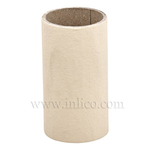 CANDLE TUBE 24ID X 50MM MAGNOLIA CARD PLAIN CANDLE TUBE